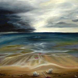 After the Storm oil painting Anthony Cavins 2013