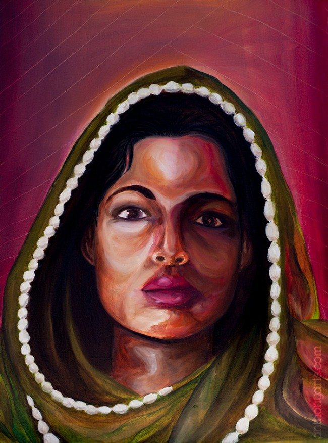M.I.A. painting