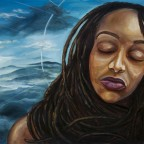 Still I Rise oil painting by Anthony Cavins 2013