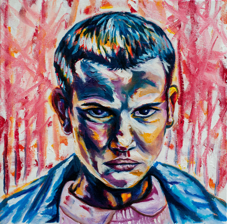 Eleven Stranger Things Fan Art